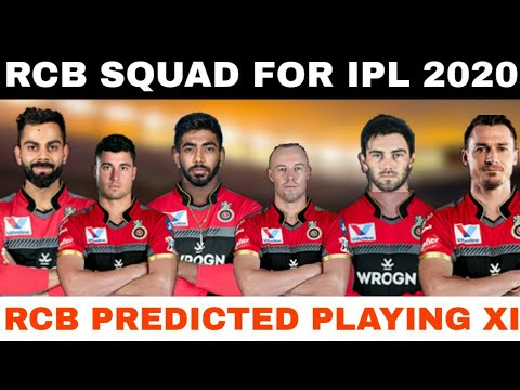 IPL 2020 Rcb Predicted Playing XI | Royal Challengers Bangalore Squad In IPL 2020 | Rcb In IPL 2020