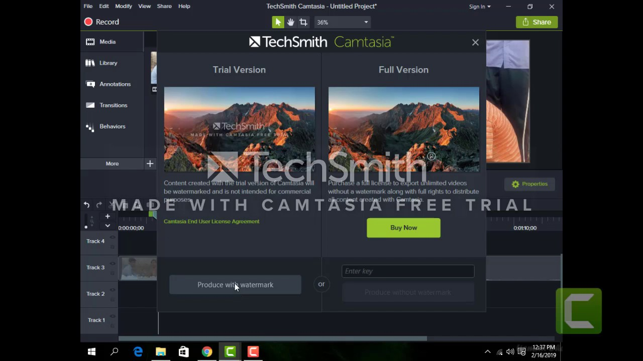 Photo of how to make convert video format in camtasia studio 9 at the home
