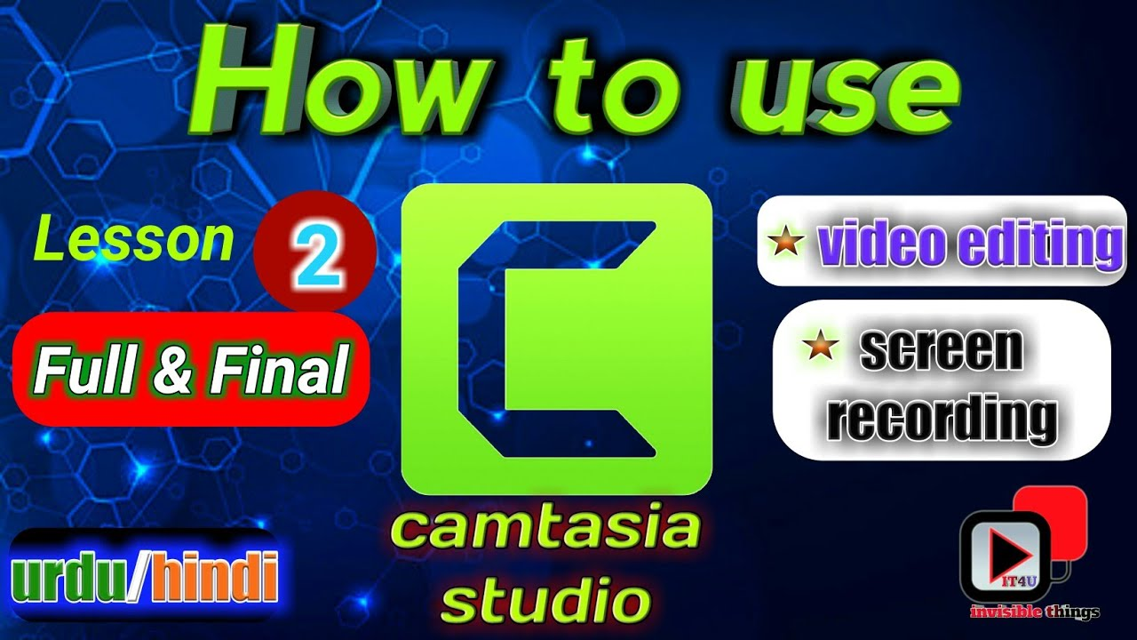 Photo of Camtasia studio Final video tutorial  important tips for editing