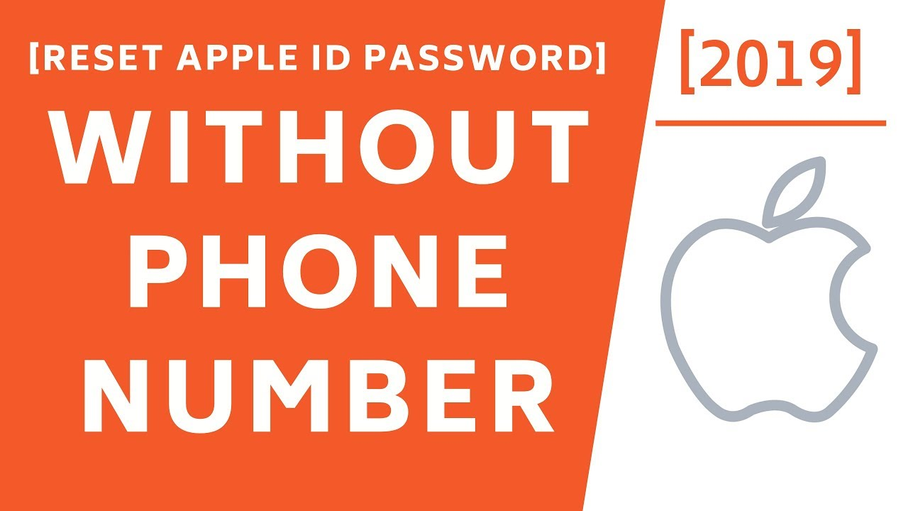 Photo of How to Reset Apple ID Password without Phone number! [2019]
