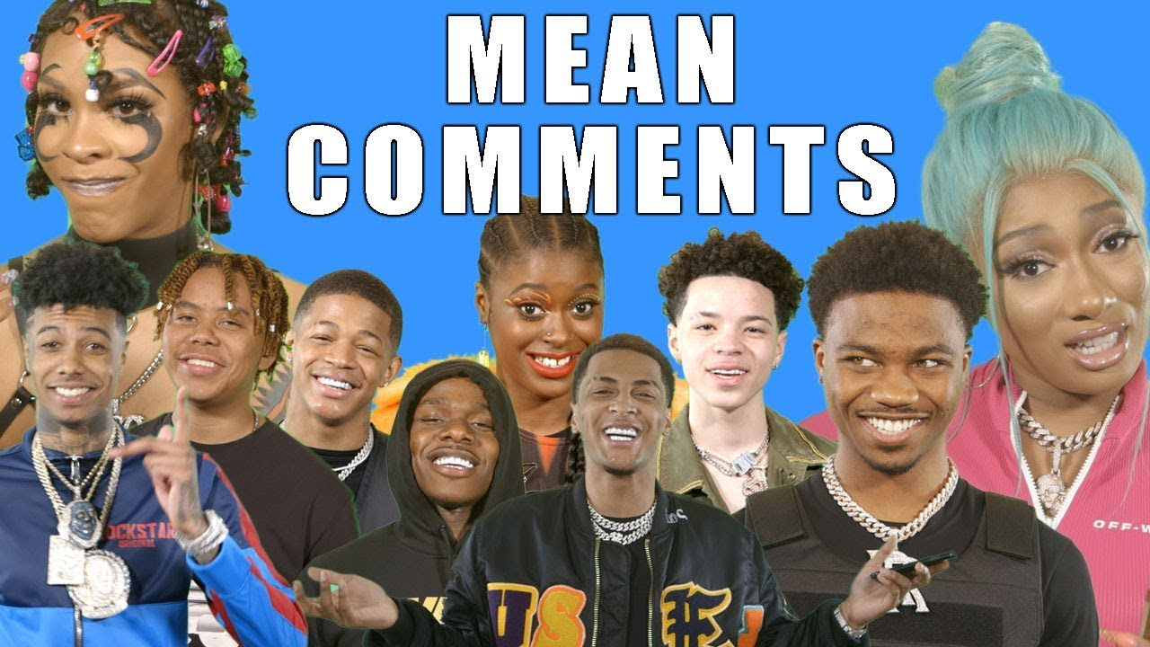 Photo of 2019 XXL Freshmen Read Mean Comments