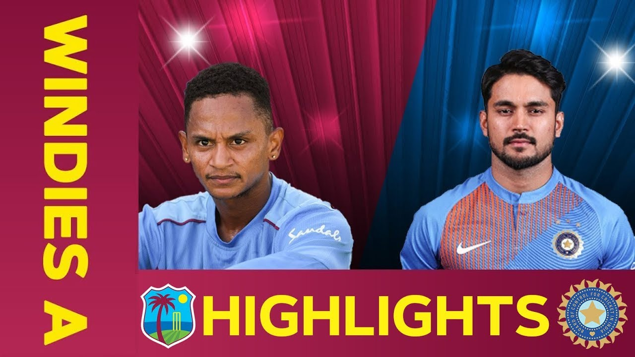 West Indies A vs India A – Match Highlights | 2nd ODI 2019 | India A Tour of West Indies