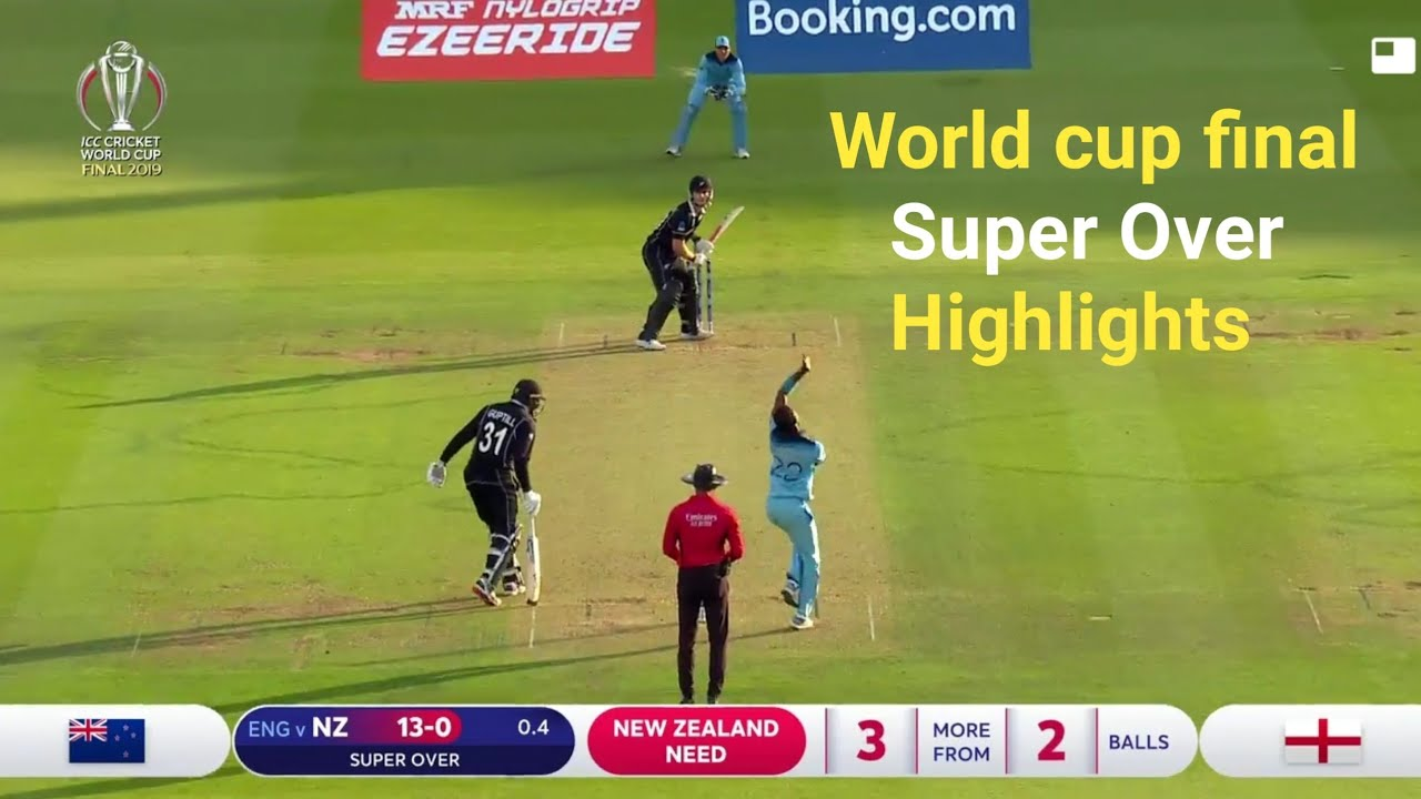 Photo of England vs New Zealand Final Match Super Over Highlights | England win world cup Full highlights |
