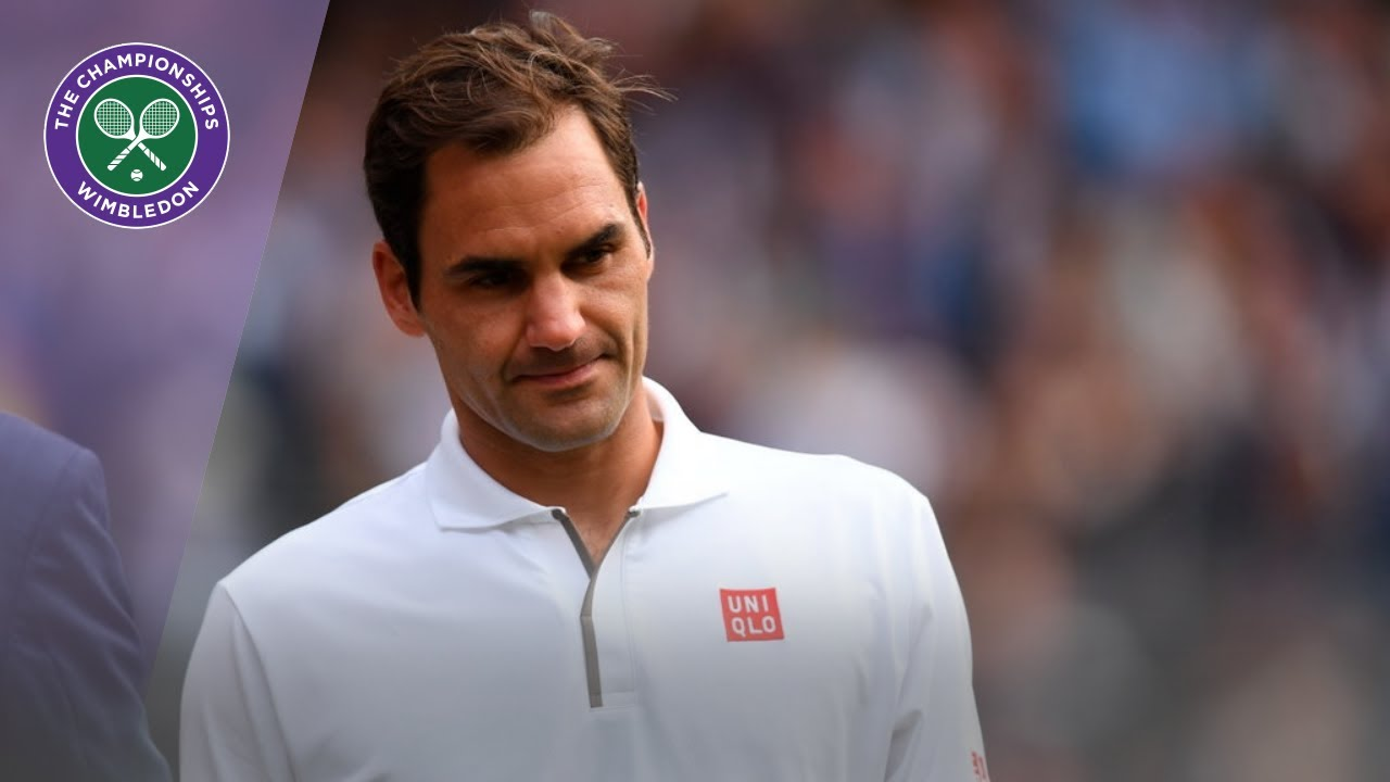 Photo of Roger Federer Wimbledon 2019 Runner-Up Speech