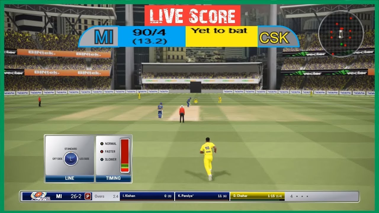 Photo of 🔴 LIVE  CSK VS MI  ||  Mumbai vs Chennai  | LIVE Score || IPL FINAL 2019