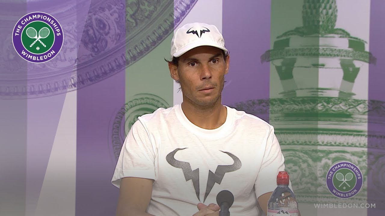 Photo of Rafael Nadal Semi-Final Press Conference Wimbledon 2019