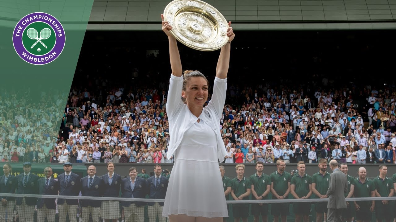 Photo of Wimbledon 2019 ladies' singles trophy presentation