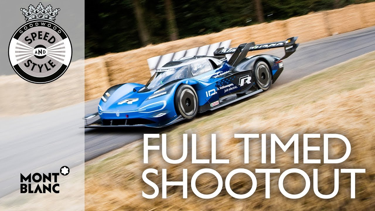 Festival of Speed 2019 Full Timed Shootout