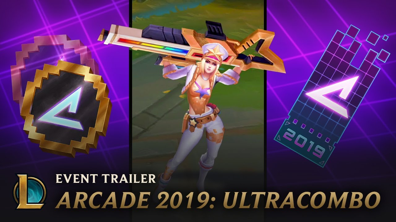 Photo of Arcade 2019: ULTRACOMBO | Event Trailer – League of Legends