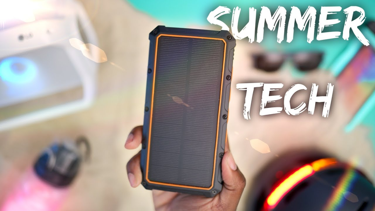Photo of The Top Summer TECH Essentials! (2019)