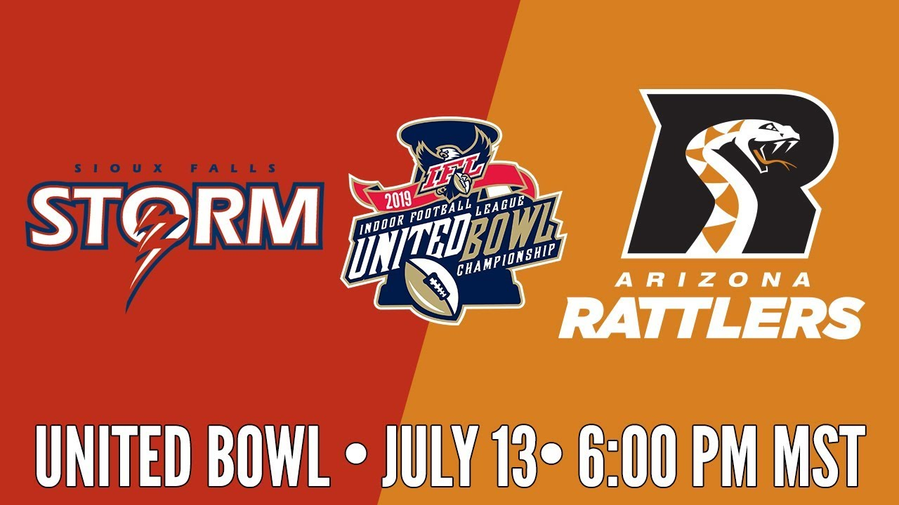 Photo of 2019 United Bowl | Sioux Falls Storm at Arizona Rattlers (Rattlers Audio)