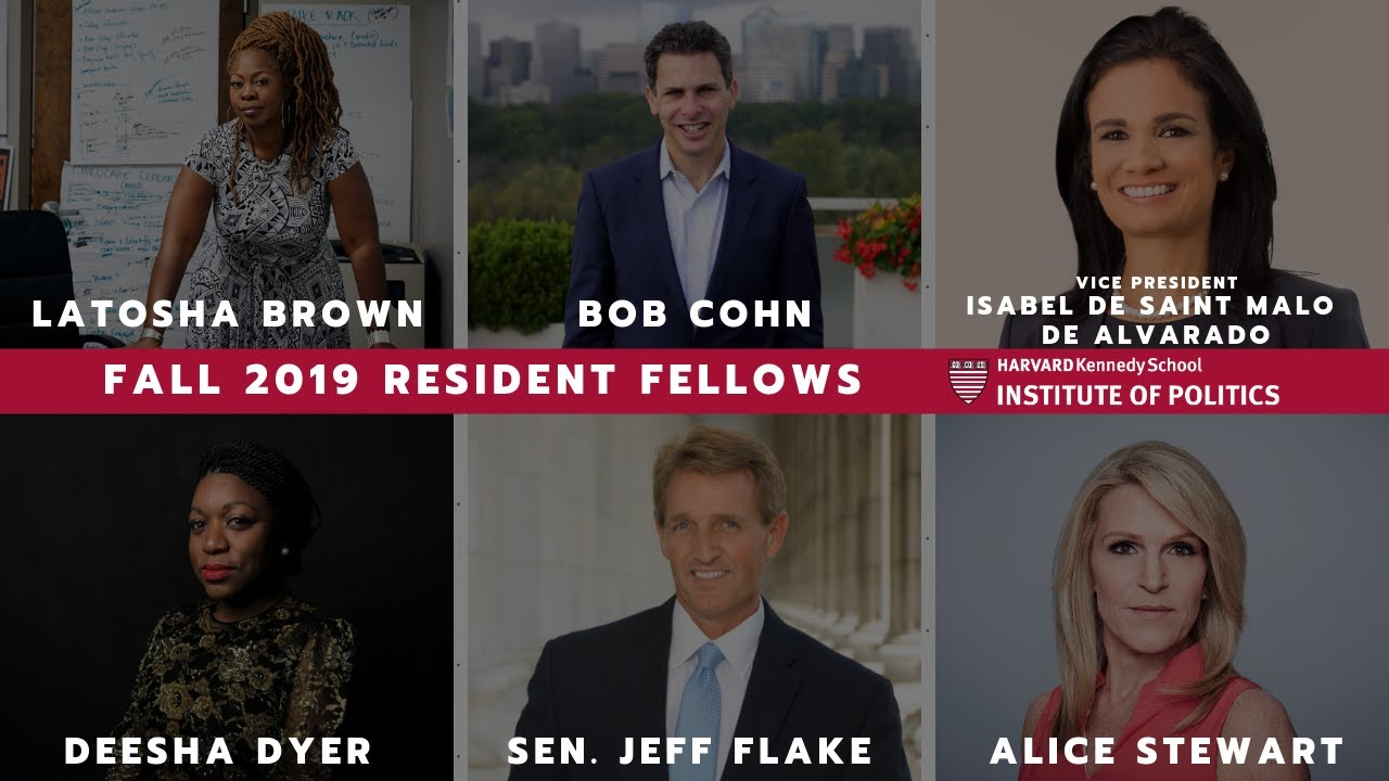 Photo of Announcing Our Fall 2019 Resident Fellows!