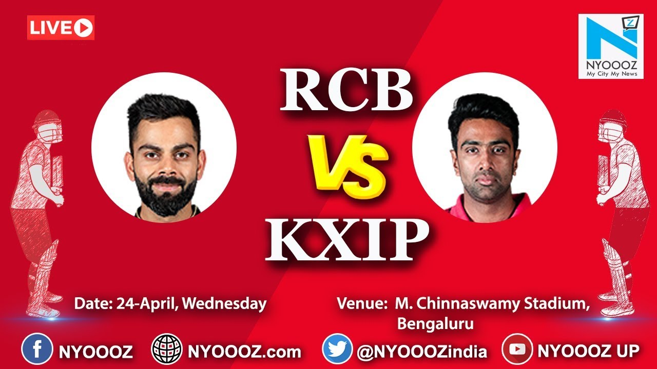 Live IPL 2019 Match 42 Discussion: RCB vs KXIP | Bangalore 82/2, Ab De Villers Batting At 14 |
