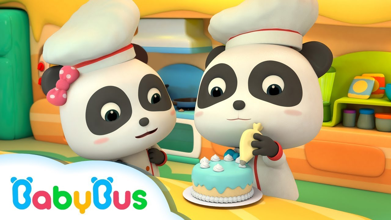 Photo of Fun Baby Panda Play & Learn Cake Cooking Colors Kids Game | Fun Kitchen Games For Children | BabyBus
