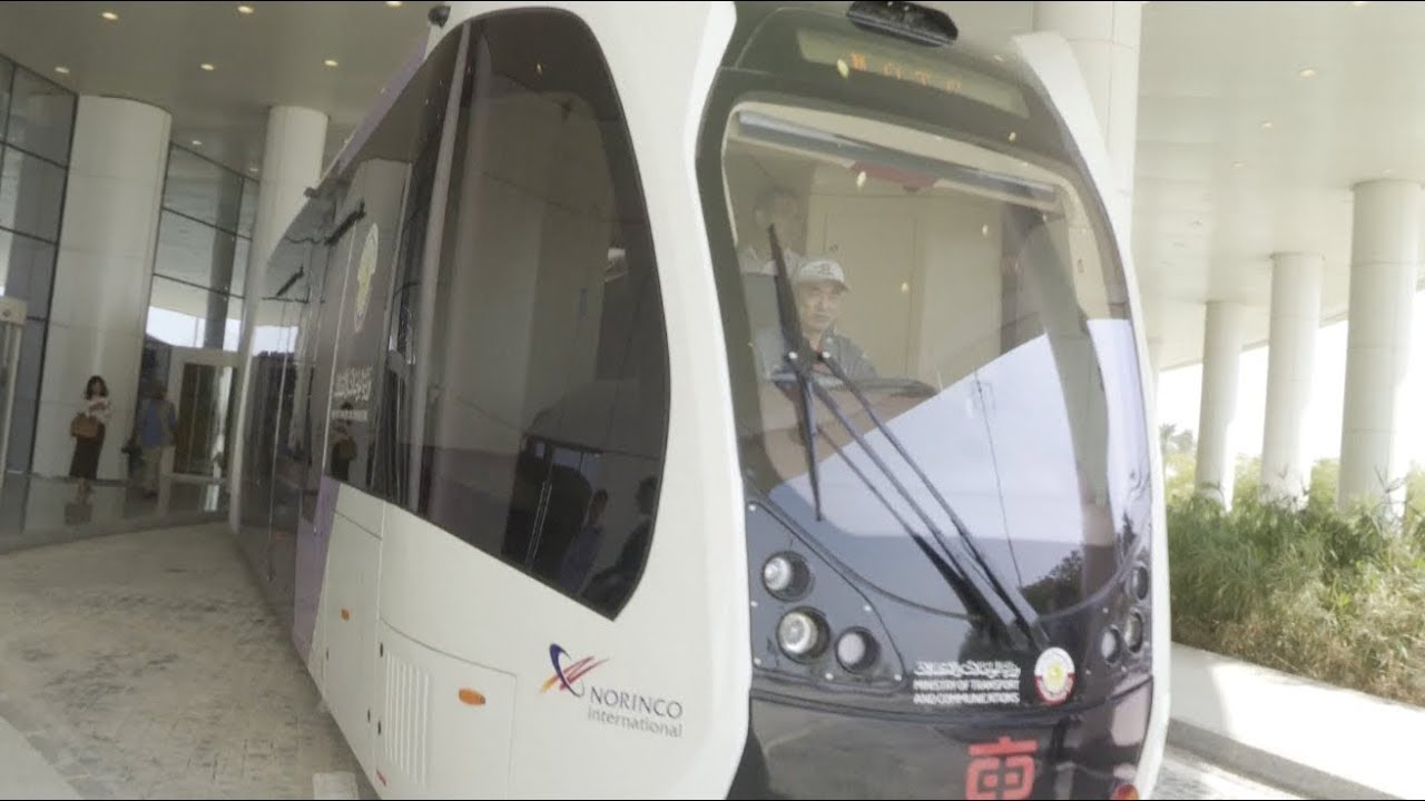 China's Self-driving Trackless 'Rail Bus' to Serve 2022 FIFA World Cup in Qatar