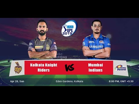 VIVO IPL LIVE 2019 : MI VS KKR 47th MATCH GAMEPLAY LIVE STREAM SCOREBOARD | ASHES CRICKET