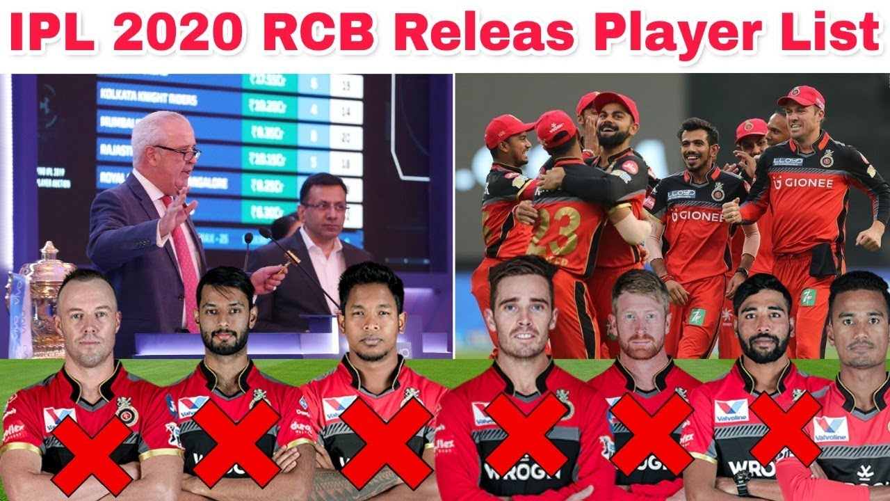 Photo of IPL 2020 : RCB Release Their 6 Players Before Auction || Royal Challengers Bangalore