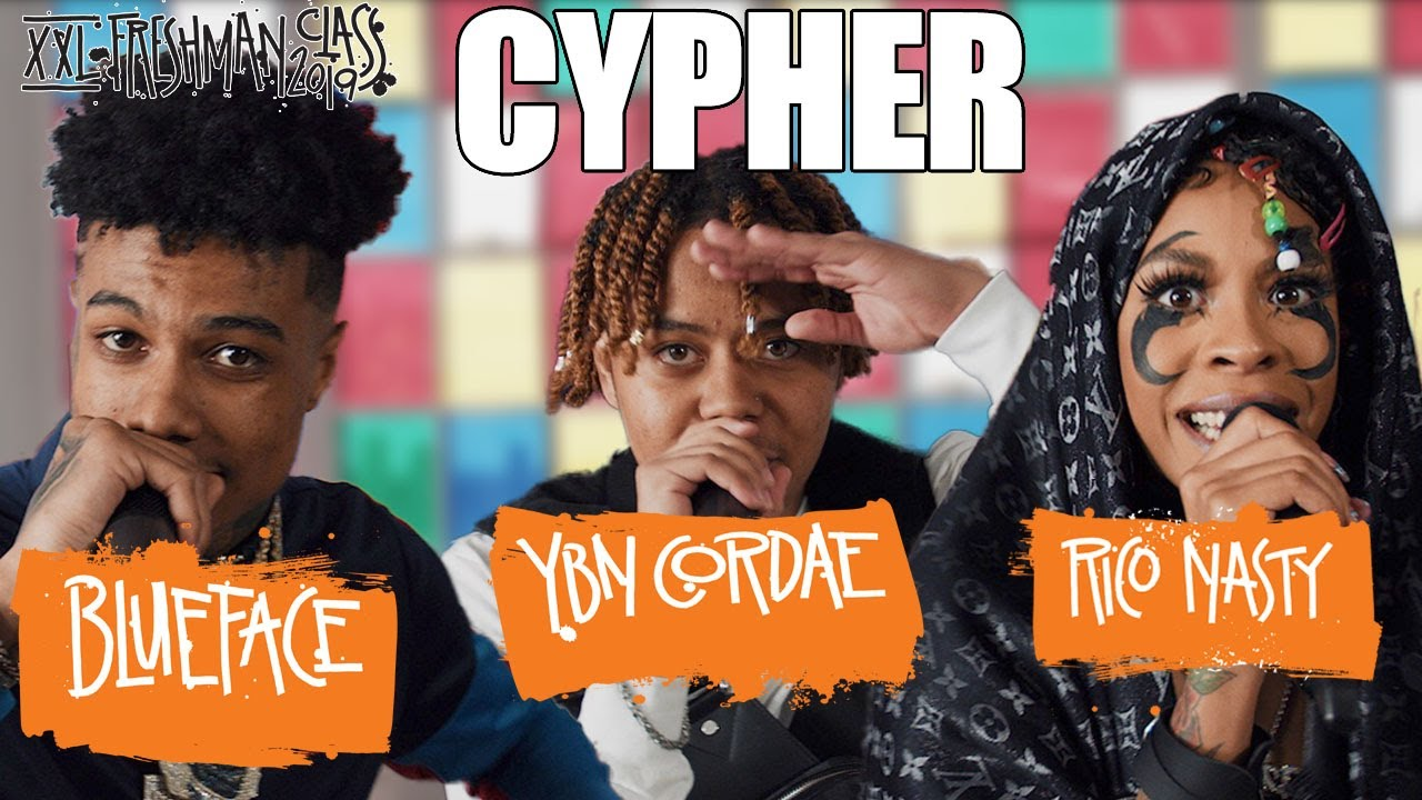 Photo of Blueface, YBN Cordae and Rico Nasty's 2019 XXL Freshman Cypher