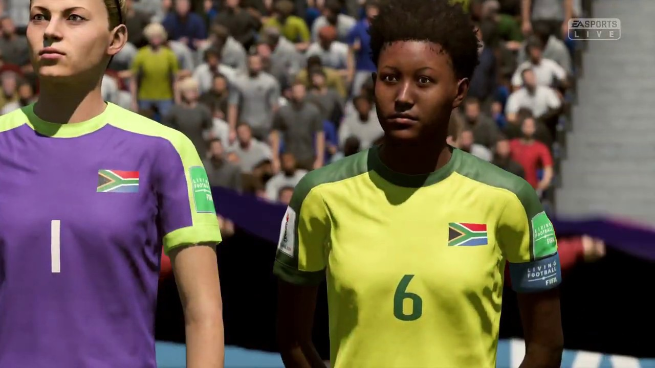 FIFA 19 – SPAIN vs. SOUTH AFRICA , WOMEN'S WORLD CUP FRANCE  2018/19 || FULL MATCH & GAMEPLAY(PS4)