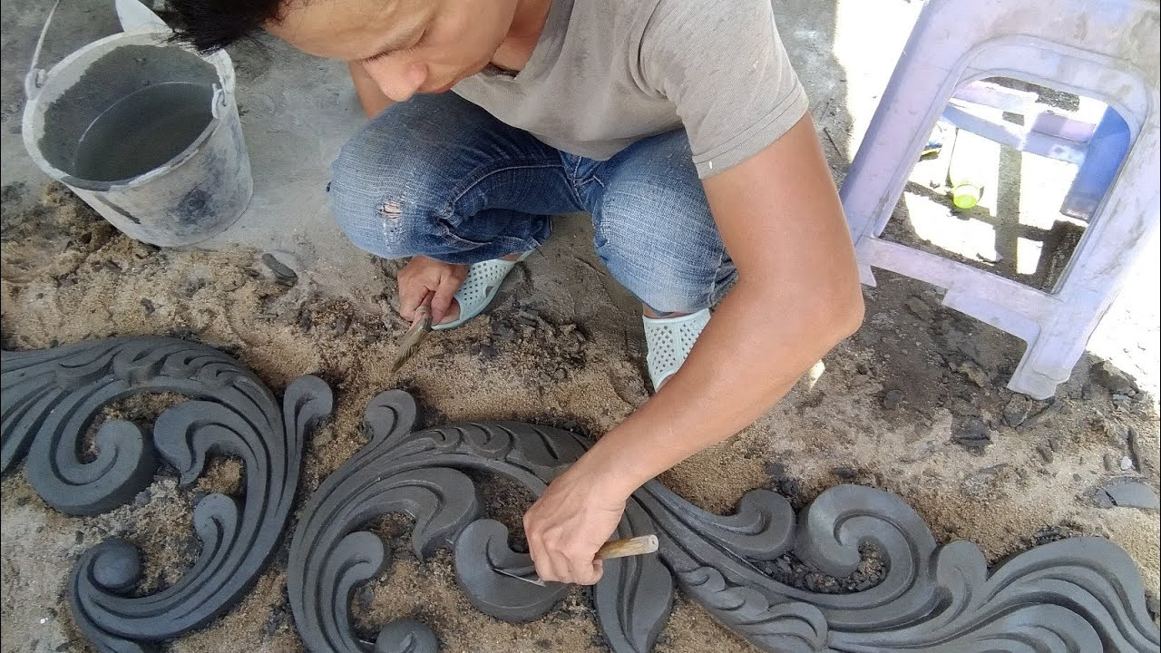 Photo of How to make reliefs on sand floor