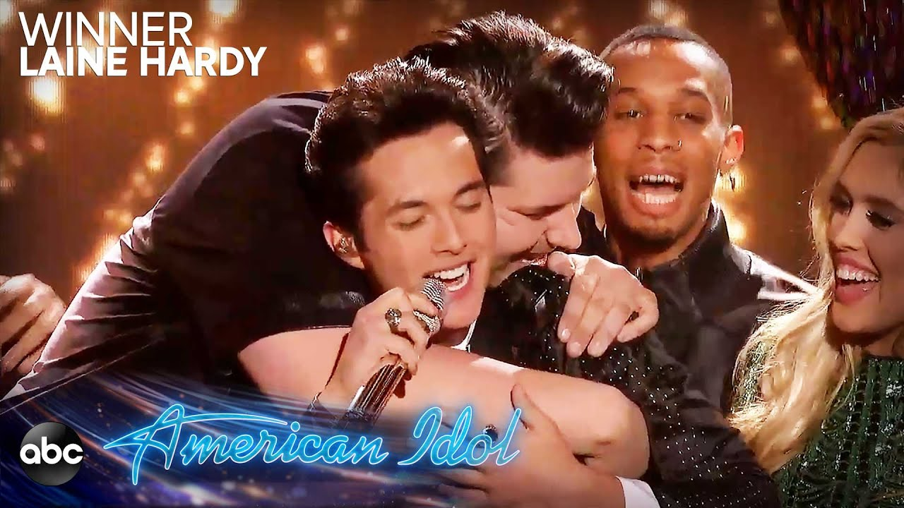"Laine Hardy Wins American Idol 2019 and Performs New Song ""Flame"" – American Idol 2019 Finale"