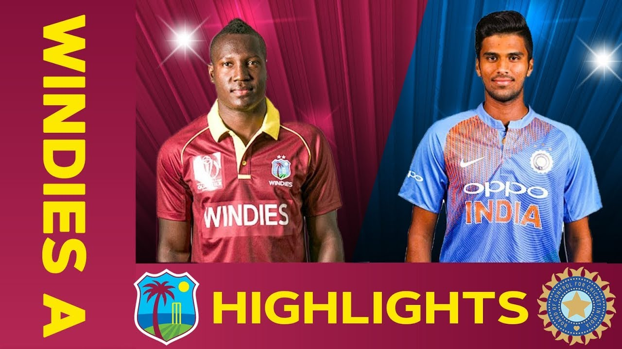 West Indies A vs India A – Match Highlights | 5th ODI 2019 | India A Tour of West Indies
