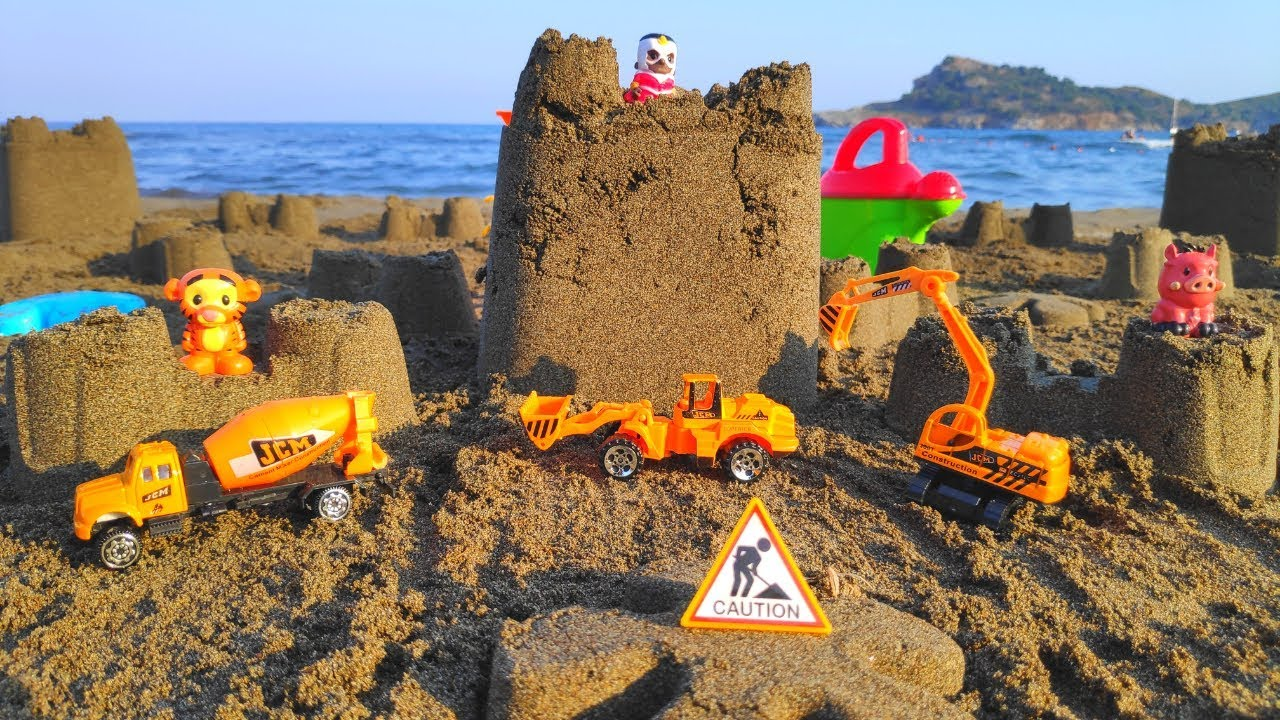 Photo of Sandcastle – How to Make w/ simple tools