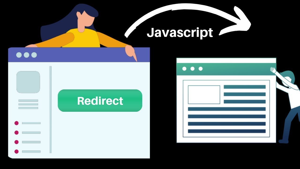 Photo of How to redirect one page to another page using JavaScript