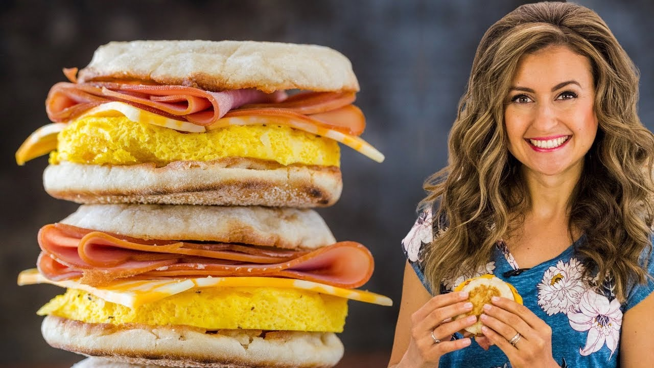 Photo of How To Make Freezer-Friendly Breakfast Sandwiches | Meal Prep