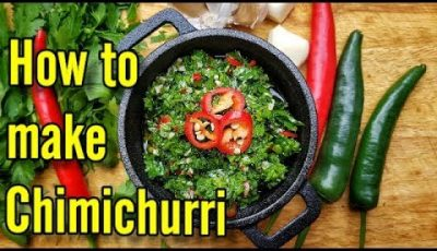 How to Make Chimichurri Sauce Quick and Easy Recipe