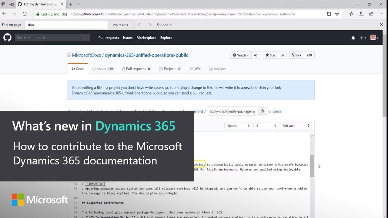 Photo of How to contribute to the Microsoft Dynamics 365 documentation