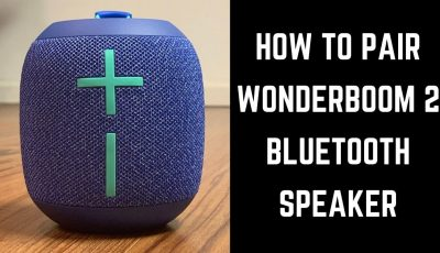 How to Pair Wonderboom 2 Bluetooth Speaker