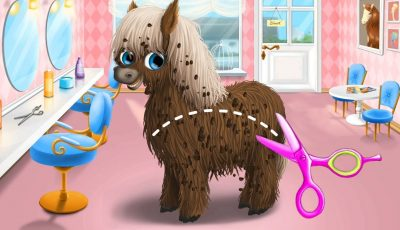 Animal Hair Salon – Kids Videos for Kids – Summer Game | العاب بنات و العاب اطفال
