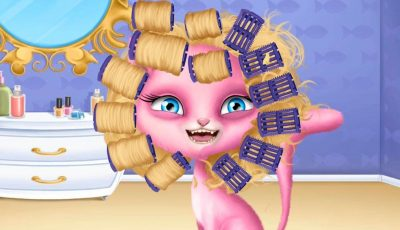 Cat Hair Salon – Best Videos for Girls and Kids – Summer Game | العاب بنات و العاب اطفال