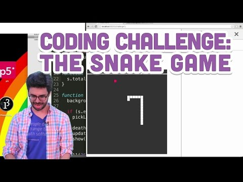Photo of Coding Challenge #3: The Snake Game