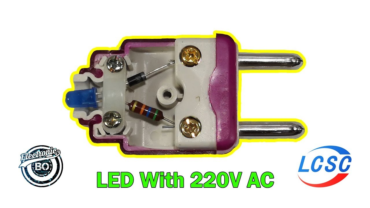 Photo of How To Run A LED With 220V AC Directly