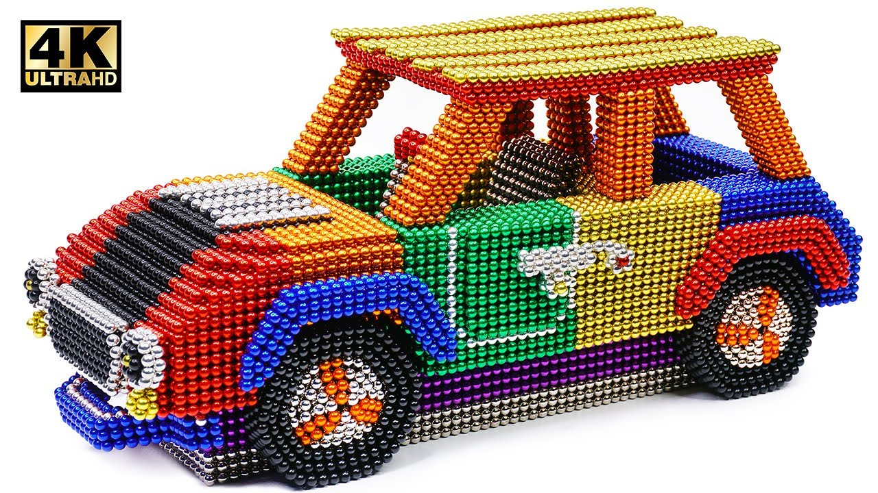 Photo of DIY – How To Make Color Mini Cooper From Magnetic Balls ( Satisfying ) | Magnet World 4K