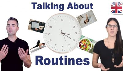 Talk About Your Daily Routine in English – Spoken English Lesson