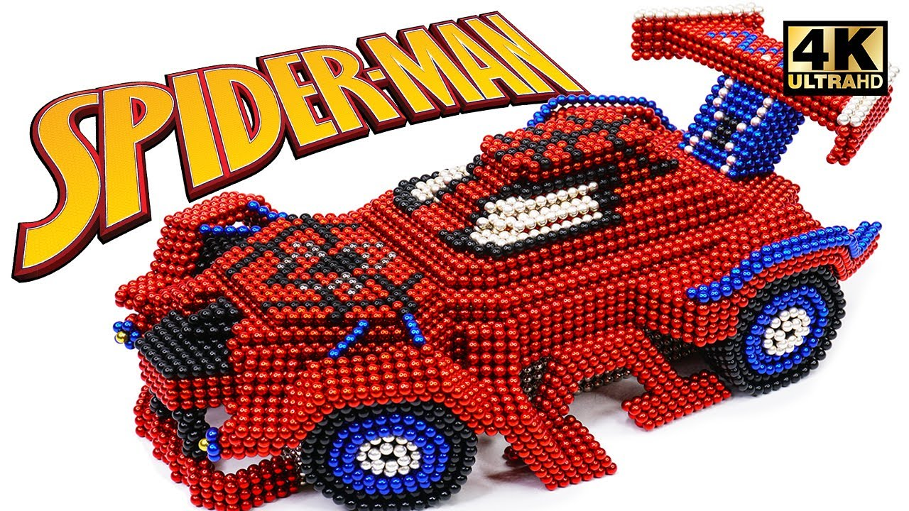 Photo of DIY How To Make Spider Man Car From Magnetic Balls ( Satisfaction ) | Magnet World 4K