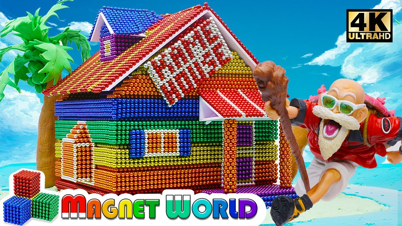 Photo of DIY – How To Build Kame House ( Dragon Ball ) From Magnetic Balls (Satisfying) | Magnet World 4K