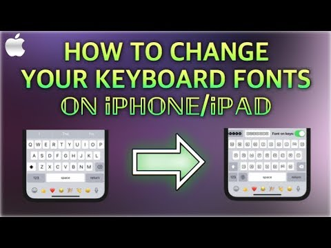 Photo of HOW TO CHANGE TEXT FONT STYLE ON iPHONE/iPAD (FREE)