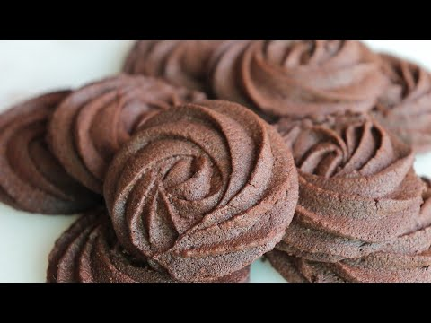 Photo of How to make delicious chocolate butter cookies