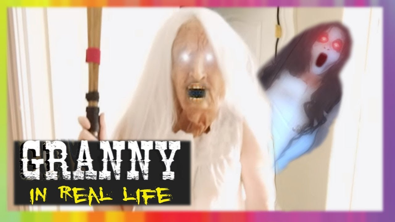 Photo of GRANNY Horror Game IN REAL LIFE! GRANNY vs Slendrina | Screen Team