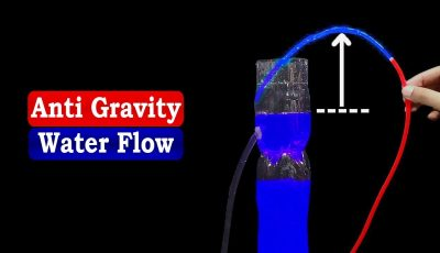 Amazing Idea: How to make Anti Gravity Water Fountain