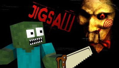 Monster School: THE SAW horror game – Minecraft Animation