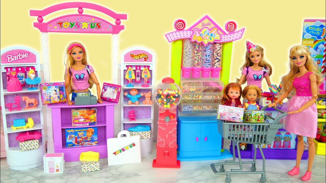 Photo of Barbie Toy Store & Candy Shop Süßigkeitenladen Toko mainan Magasin bonbons لعبة باربي Loja de doces