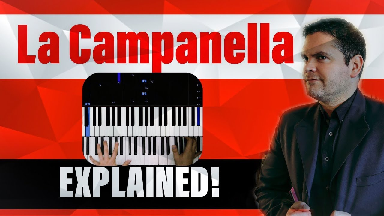 Photo of LA CAMPANELLA – PIANO TUTORIAL – LISZT