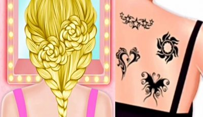 Games girls salon hair artist- tattoo artist- العاب بنات صالون