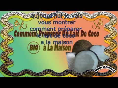 Photo of Comment préparer le lait de coco à la maison/كيفية تحضير حليب جوز الهند