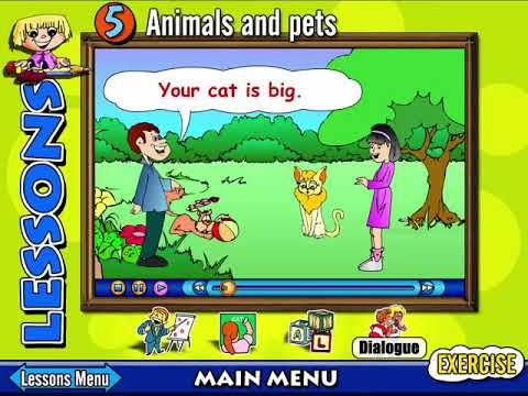 Photo of 21      مستوى  2  درس  5  LEVEL  2  LESSON  5  ANIMALS  AND  PETS